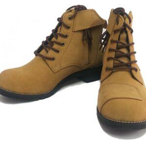 WILD WING 騎士短靴 駝色