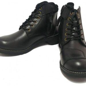 日本 WILD WING 騎士短靴 黑色