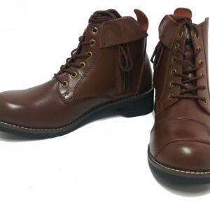 WILD WING 騎士短靴 咖啡色