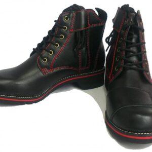 日本 WILD WING 騎士短靴 紅線版