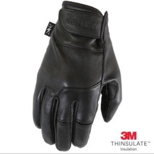 美國 Thrashin 保暖觸控 皮革手套 輕巧 冬季