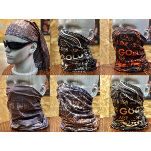 日本 Jamsgold 柔軟 超細纖維 魔術頭巾 萬用頭巾 防曬 防塵 防蚊蟲 個性 風格 騎士