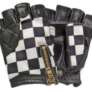 VIN&AGE 賽車格半指手套